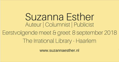 Evenement: Meet & Greet met Suzanna Esther bij The Irrational Library